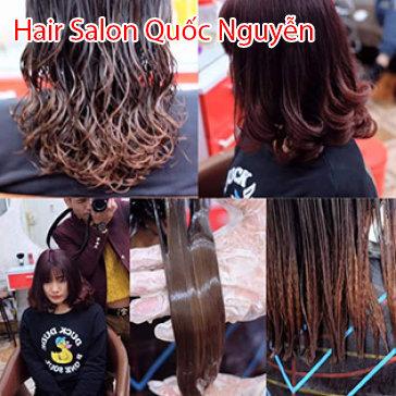 Hair Salon Quốc Nguyễn - Trọn Gói Phục Hồi Tóc Khô Xơ, Hư Tổn, Gãy Rụng
