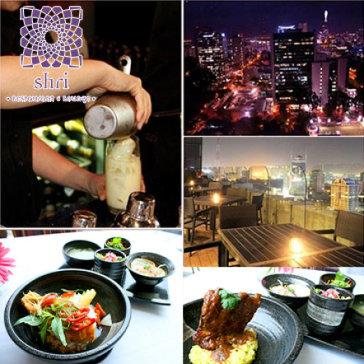 Set 8 Món Cao Cấp 5* Siêu Sang View Đẹp Nhất SG - Shri Restaurant & Lounge
