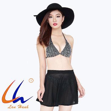 Bộ Bơi Bikini + Váy 22023 - BST Lan Hạnh