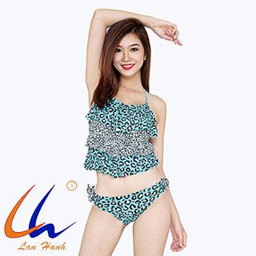 Bộ Bơi Bikini Xếp Tầng 23053 Lan Hạnh