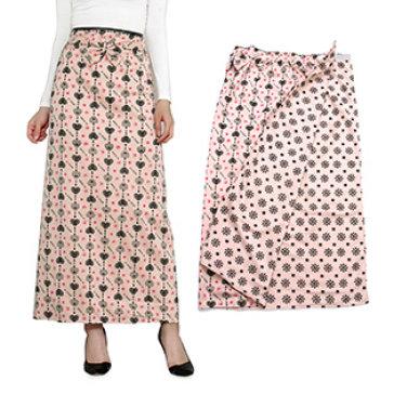 Váy Chống Nắng Hai Lớp Vải Thun Họa Tiết Thời Trang