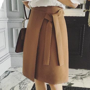 Chân Váy Tà Đắp Buộc Nơ Taka