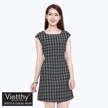 Đầm Pen Sườn Voschy