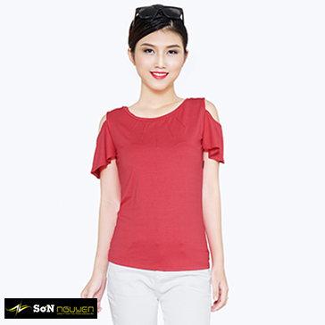 Áo Thun Nữ Cut Vai - 63801&04 - TH Sơn Nguyễn