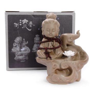 Tượng Phật Đốt Trầm Thác Khói
