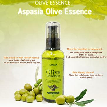 Tinh Chất Dưỡng Tóc Oliu - Aspasia Olive Essence - NK Hàn Quốc