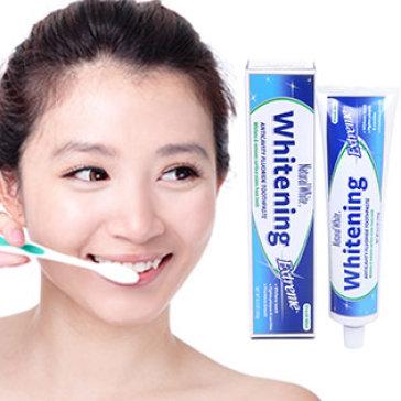 Kem Đánh Răng Làm Trắng Chống Mảng Bám Và Ngừa Sâu Răng Natural White USA