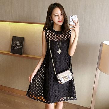 Đầm Ren Suông Louisa