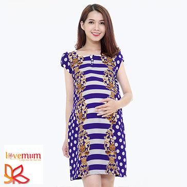 Đầm Bầu Chấm Bi Lovemum