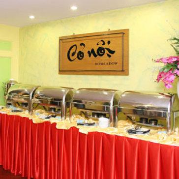 Buffet Chay Tối Cỏ Nội – KS Bông Sen 2
