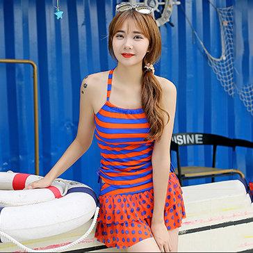 Set Đồ Bơi 2 Mảnh Phối Sọc