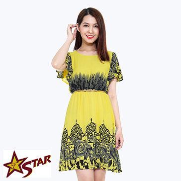 Đầm Maxi Dạo Phố NQ Star