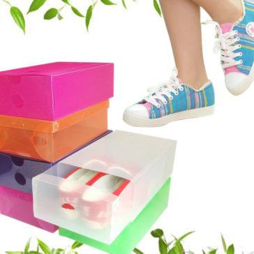 Combo 5 Hộp Đựng Giày Trong Suốt Bảo Vệ Giày Bạn