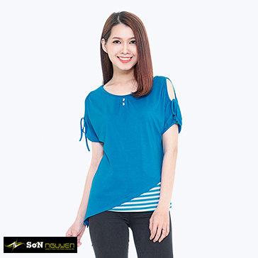 Áo Thun Kiểu Tay Cut-Out 65705&02 TH Sơn Nguyễn
