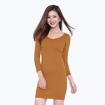 Đầm Body Tay Dài Dini