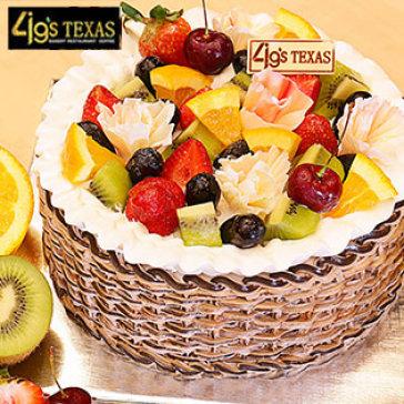 Bánh Kem Nhân Trái Cây Tươi Cao Cấp 2 Tấc Tại 4G's Texas Bakery