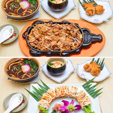 1 Trong 3 Set Ăn Hương Vị Nhật Bản Tại Nhà Hàng Quê Hương