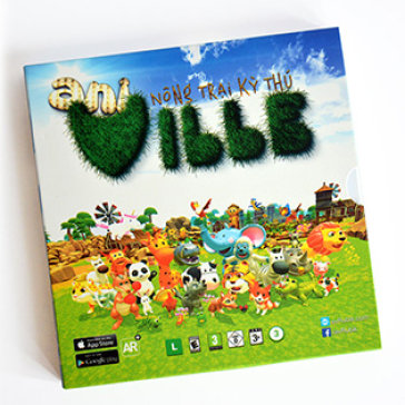 Sách Giáo Dục 3D - Nông Trại Kỳ Thú - Aniville