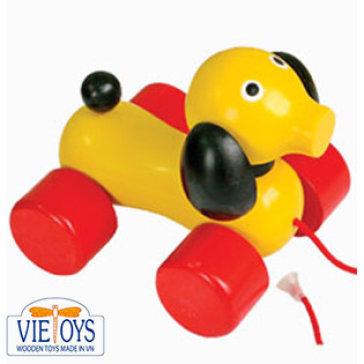 Đồ Chơi Gỗ Viettoys - Con Chó Lớn (Màu Vàng) VTU3-0013