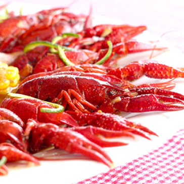 1Kg Tôm Hùm Đất Crawfish Sốt Cajun Kiểu Mỹ - Nhà Hàng Xoay Hoàng...