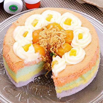 Bánh Bông Lan Sốt Mayonnaise 16 Cm