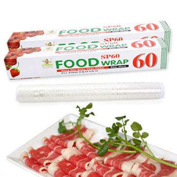Combo 2 Cuộn Màng Bọc Thực Phẩm SP60 Food Wrap (60m/Cuộn)