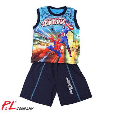 Bộ Thun Bé Trai 1-5 Spiderman In 3D