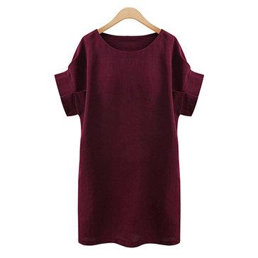 Đầm Suông Tay Con Cách Điệu