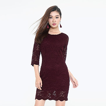Đầm Ren Tay Lỡ