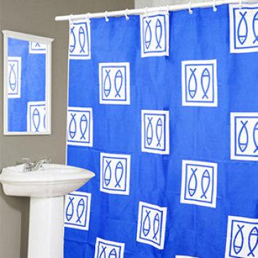 Màn Vải Treo Phòng Tắm Cao Cấp Không Thấm Nước (180*140 cm) - T.H Thanh Long ( Hàng VNCLC)