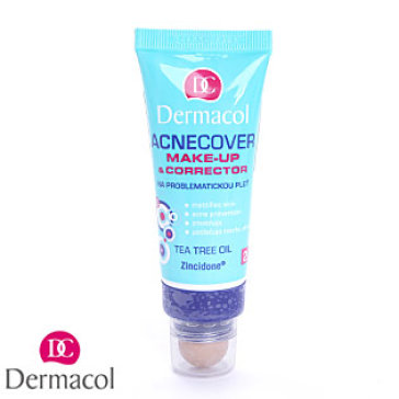 Kem Nền Và Che Khuyết Điểm Cho Da Mụn Acnecover Make-Up With Corrector Dermacol