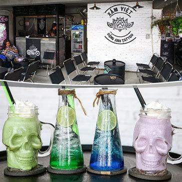 Thưởng Thức Các Loại Thức Uống Tại Xăm Việt Tattoo & Coffee