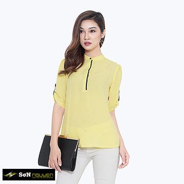 Áo Kiểu Tay Lỡ 03602 TH Sơn Nguyễn