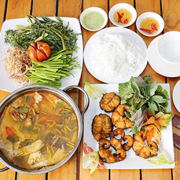 Set Cá Lăng Nấu Lẩu Măng Chua/ Nướng Muối Ớt (300gr) Cho 2...