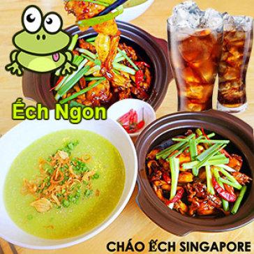 Ăn Mê Say - Combo Cháo Ếch Singapore Siêu Ngon Dành Cho 02 Người Tại...