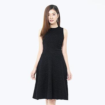 Đầm Xòe Midi Thời Trang