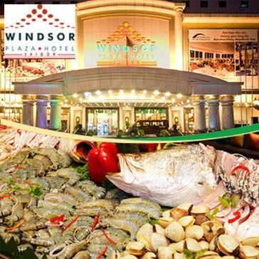 Windsor Plaza Hotel 5* - International Buffet Trưa Thứ 7 & Chủ Nhật