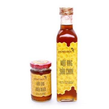 Mật Ong Sữa Chúa Honey Boy 250ml + Mật Ong Thiên Nhiên 100ml