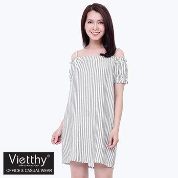 Đầm Rớt Vai Việt Thy