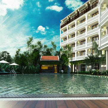 Little Hội An Central Boutique Hotel & Spa 4* Gồm Điểm Tâm Sáng Không Phụ Thu Cuối Tuần