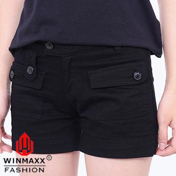Quần Short Kaki Nữ Trơn Winmaxx C24