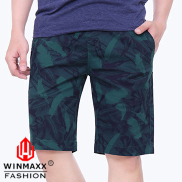 Quần Short Kaki Nam Hoa Văn Winmaxx