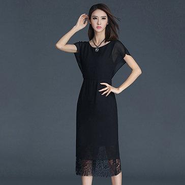 Đầm Lady Luxuri Phối Ren