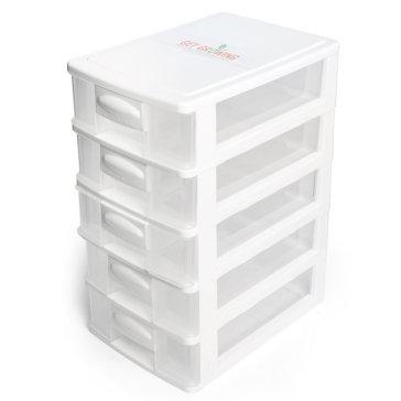 Tủ Nhựa Mini 5 Ngăn - TH Đại Đồng Tiến