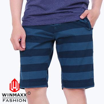 Quần Short Kaki Nam Sọc Ngang Winmaxx