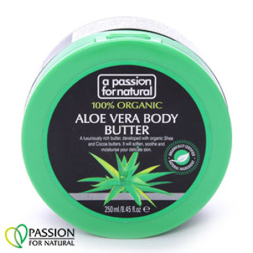 Kem Dưỡng Thể 100% Organic Aloe Vera APFN 250ml