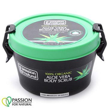 Kem Tẩy Da Chết Toàn Thân 100% Organic Aloe Vera APFN 300Ml