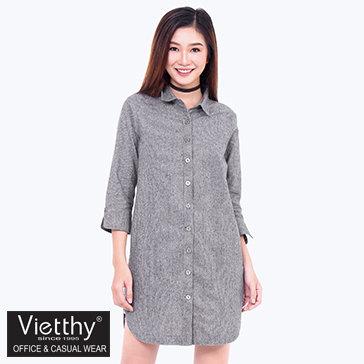 Đầm Sơ Mi Lai Bầu Việt Thy