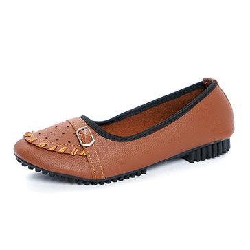 Giày Mọi Nữ Đan Chỉ Thời Trang Sarisiu