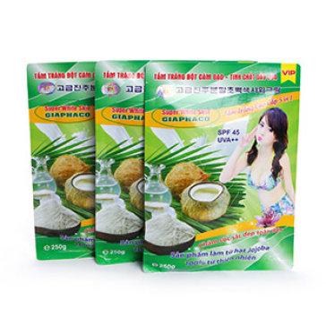 Combo 3 Gói Tắm Trắng Body Bột Cám Gạo, Dầu Dừa 250G (Da Trắng Lên Sau 3 Lần Tắm)